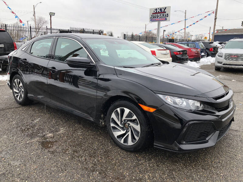 2019 Honda Civic for sale at SKY AUTO SALES in Detroit MI