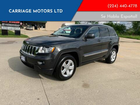 2011 Jeep Grand Cherokee for sale at Carriage Motors LTD in Ingleside IL