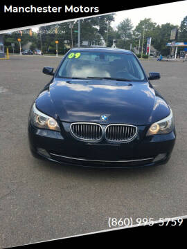 2009 BMW 5 Series for sale at Manchester Motors in Manchester CT