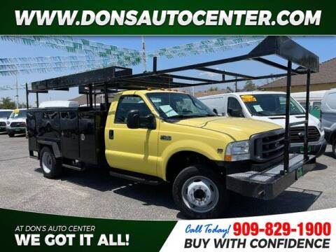 2004 Ford F-450 Super Duty for sale at Dons Auto Center in Fontana CA
