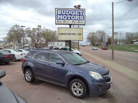 2014 Chevrolet Equinox for sale at Budget Motors - Budget Acceptance in Sioux City IA