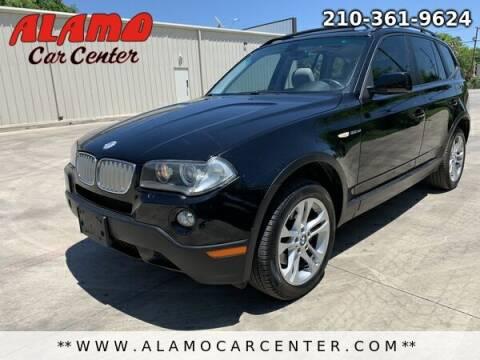 2007 BMW X3 for sale at Alamo Car Center in San Antonio TX