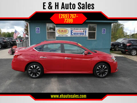 2019 Nissan Sentra for sale at E & H Auto Sales in South Haven MI