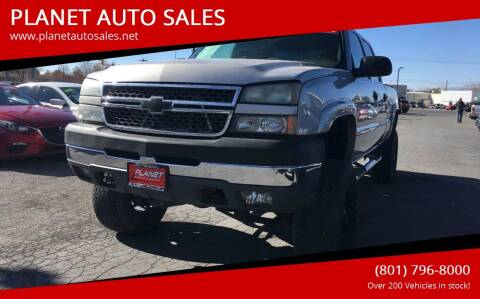 2005 Chevrolet Silverado 2500HD for sale at PLANET AUTO SALES in Lindon UT