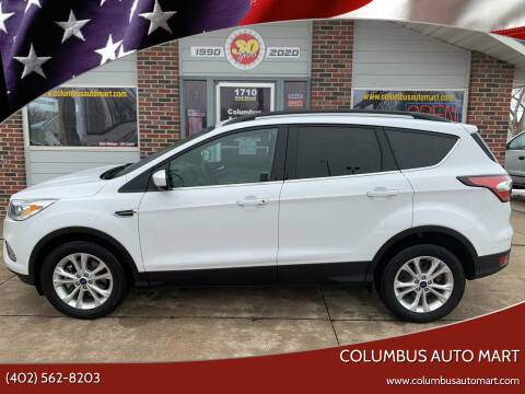 2017 Ford Escape for sale at Columbus Auto Mart in Columbus NE