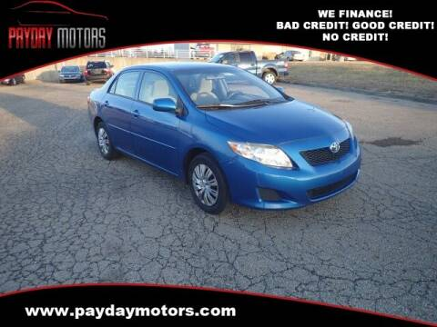 2010 Toyota Corolla for sale at Payday Motors in Wichita And Topeka KS