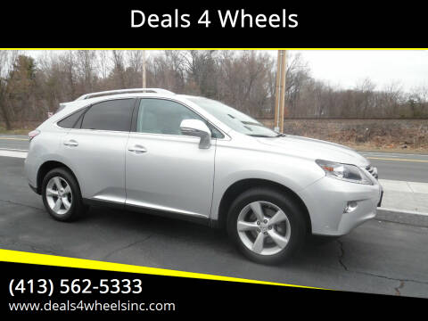 2015 Lexus RX 350 for sale at Deals 4 Wheels in Westfield MA