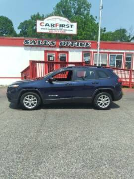 2016 Jeep Cherokee for sale at CARFIRST ABERDEEN in Aberdeen MD