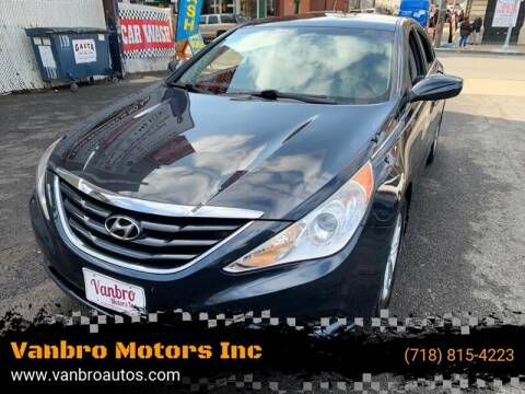 2011 Hyundai Sonata for sale at Vanbro Motors Inc in Staten Island NY