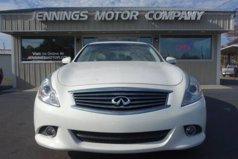 2013 Infiniti G37 Sedan for sale at Jennings Motor Company in West Columbia SC