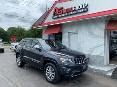 2014 Jeep Grand Cherokee for sale at AG AUTOGROUP in Vineland NJ