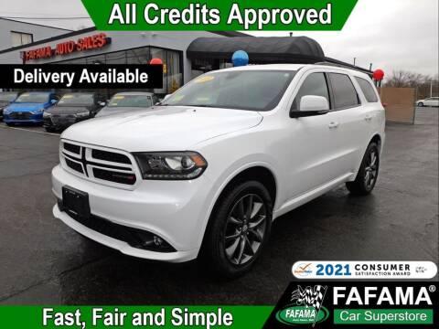 2018 Dodge Durango for sale at FAFAMA AUTO SALES Inc in Milford MA