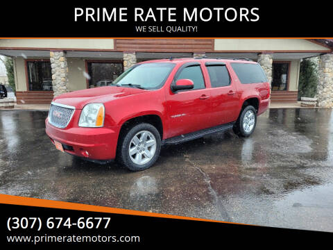 2013 GMC Yukon XL for sale at PRIME RATE MOTORS in Sheridan WY