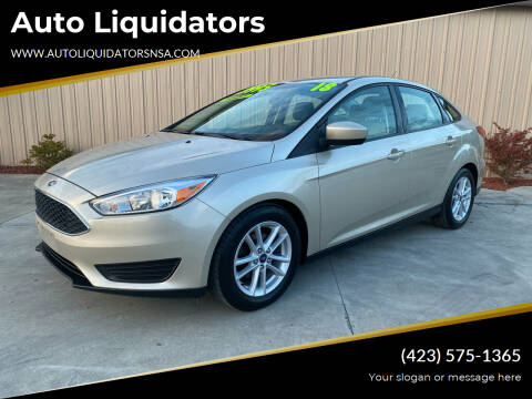 2018 Ford Focus for sale at Auto Liquidators in Bluff City TN
