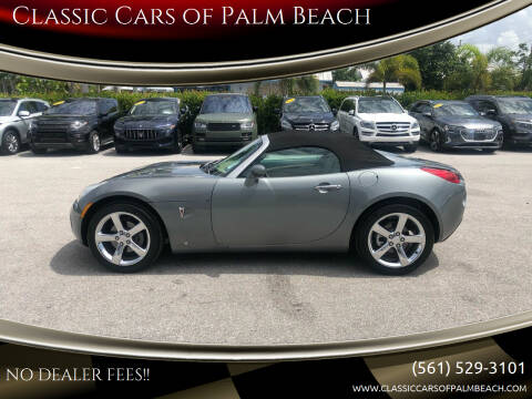 2007 Pontiac Solstice for sale at Classic Cars of Palm Beach in Jupiter FL
