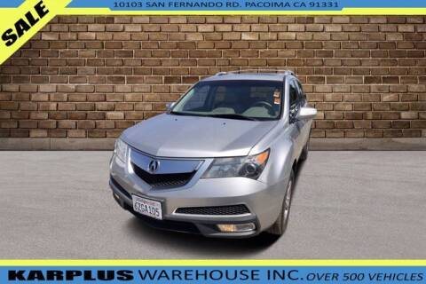 2013 Acura MDX for sale at Karplus Warehouse in Pacoima CA