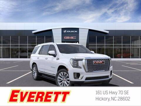 2021 GMC Yukon for sale at Everett Chevrolet Buick GMC in Hickory NC