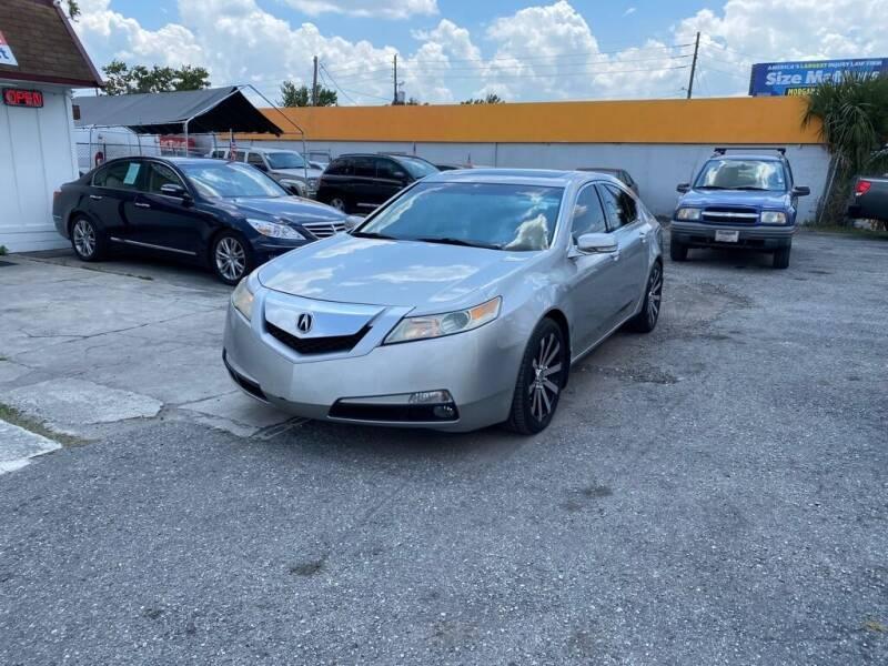 2011 Acura TL for sale at CENTRAL FLORIDA AUTO MART LLC in Orlando FL