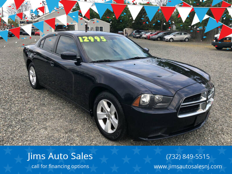 2012 Dodge Charger for sale at Jims Auto Sales in Lakehurst NJ