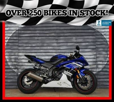 2016 Yamaha YZF-R6 for sale at Motomaxcycles.com in Mesa AZ