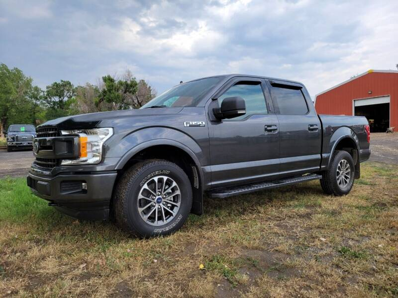 2019 Ford F-150 for sale at A & B Auto Sales in Ekalaka MT