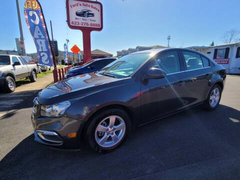2015 Chevrolet Cruze for sale at Ford's Auto Sales in Kingsport TN