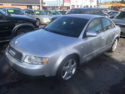 2002 Audi A4 for sale at American Dream Motors in Everett WA