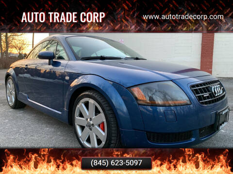 2005 Audi TT for sale at AUTO TRADE CORP in Nanuet NY