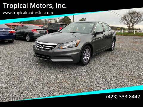 2012 Honda Accord for sale at Tropical Motors, Inc. in Riceville TN