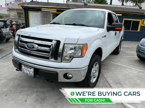 2011 Ford F-150 for sale at Good Vibes Auto Sales in North Hollywood CA