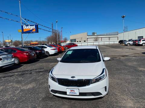 2017 Kia Forte for sale at BUDGET CAR SALES in Amarillo TX