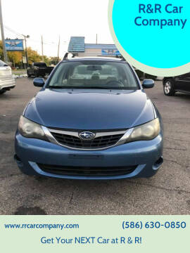 2009 Subaru Impreza for sale at R&R Car Company in Mount Clemens MI