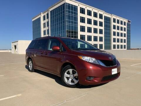 2013 Toyota Sienna for sale at SIGNATURE Sales & Consignment in Austin TX
