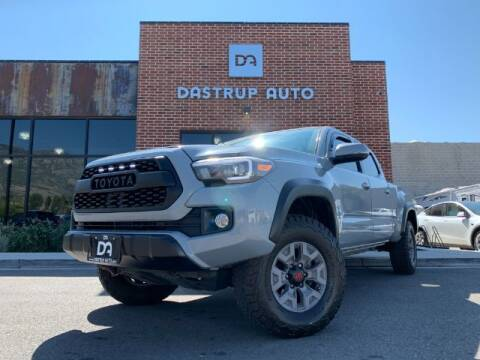 2018 Toyota Tacoma for sale at Dastrup Auto in Lindon UT
