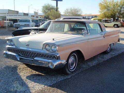 1959 Ford Galaxie for sale at Collector Car Channel - Desert Gardens Mobile Homes in Quartzsite AZ