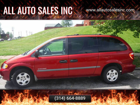 2001 Dodge Grand Caravan for sale at ALL Auto Sales Inc in Saint Louis MO