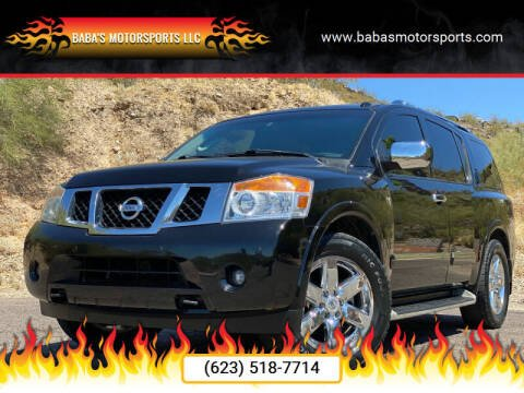 2010 Nissan Armada for sale at Baba's Motorsports, LLC in Phoenix AZ