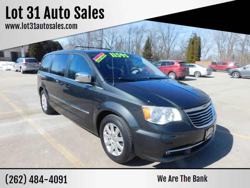 2011 Chrysler Town and Country for sale at Lot 31 Auto Sales in Kenosha WI