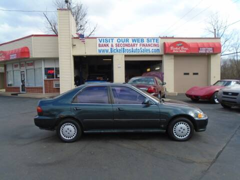 1995 Honda Civic for sale at Bickel Bros Auto Sales, Inc in Louisville KY