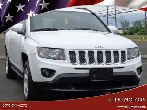 2016 Jeep Compass for sale at RT 130 Motors in Burlington NJ