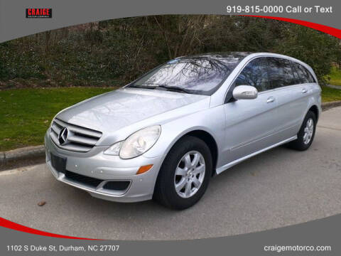 2007 Mercedes-Benz R-Class for sale at CRAIGE MOTOR CO in Durham NC