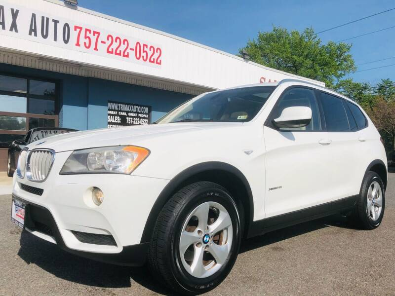 2011 BMW X3 for sale at Trimax Auto Group in Norfolk VA