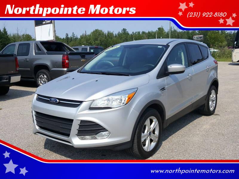 2015 Ford Escape for sale at Northpointe Motors in Kalkaska MI