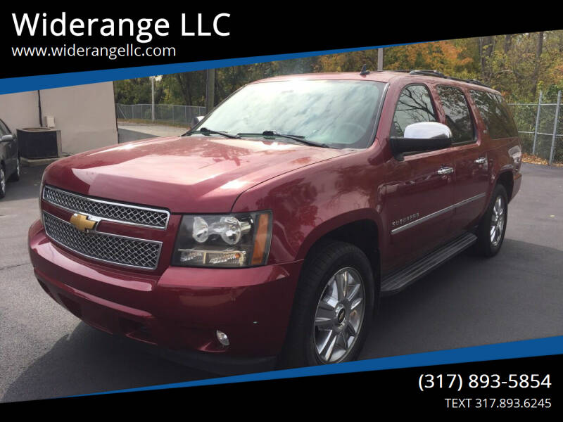 2010 Chevrolet Suburban for sale at Widerange LLC in Greenwood IN