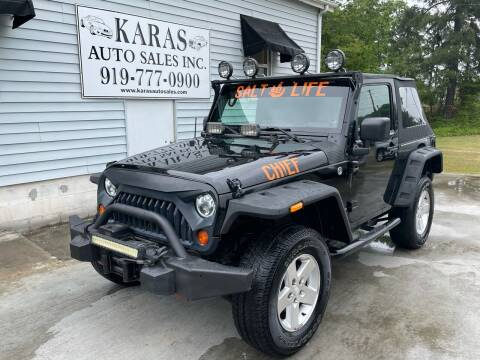 2009 Jeep Wrangler for sale at Karas Auto Sales Inc. in Sanford NC