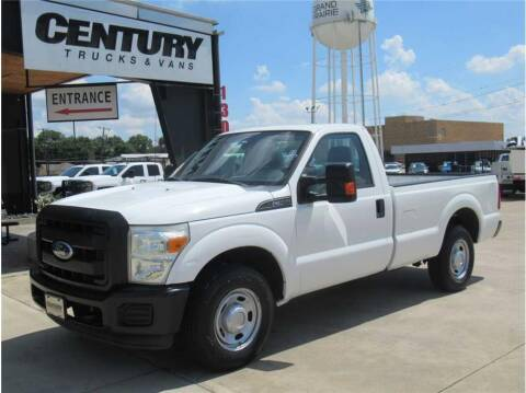 2011 Ford F-250 Super Duty for sale at CENTURY TRUCKS & VANS in Grand Prairie TX