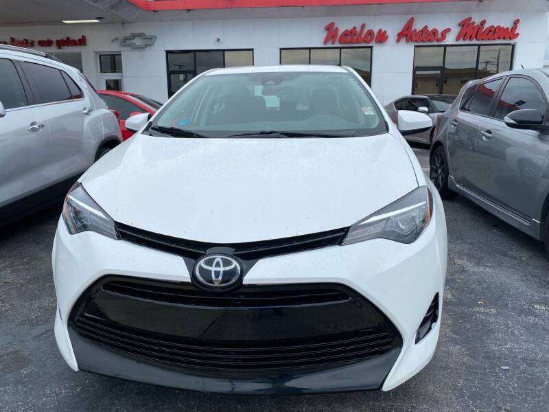 2017 Toyota Corolla for sale at Nation Autos Miami in Hialeah FL