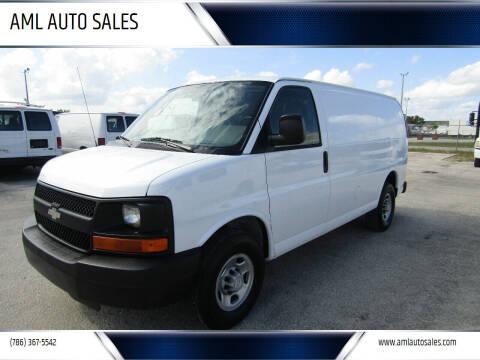 2007 Chevrolet Express Cargo for sale at AML AUTO SALES - Cargo Vans in Opa-Locka FL