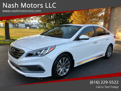 2017 Hyundai Sonata for sale at Nash Motors LLC in Hudsonville MI
