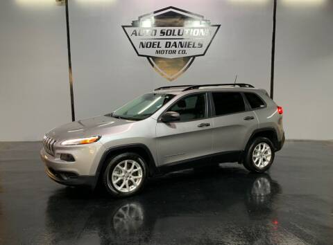 2016 Jeep Cherokee for sale at Noel Daniels Motor Company in Ridgeland MS